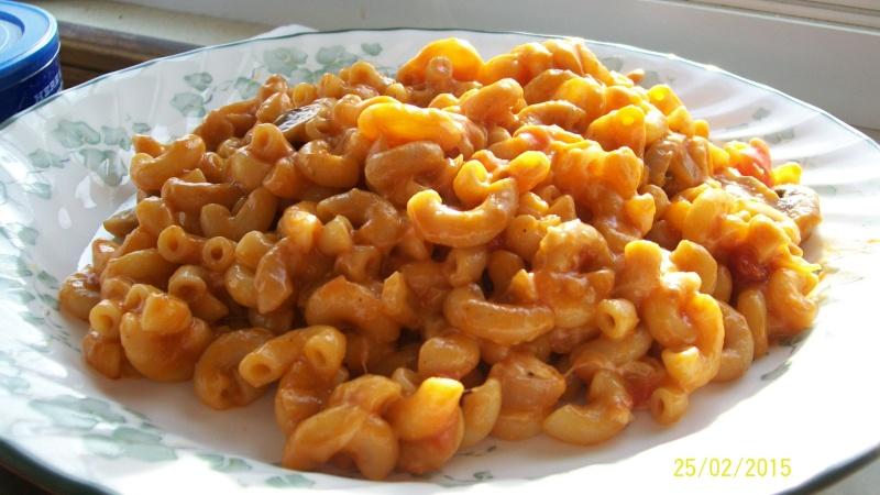 Macaroni à la soupe aux tomates 100_6815