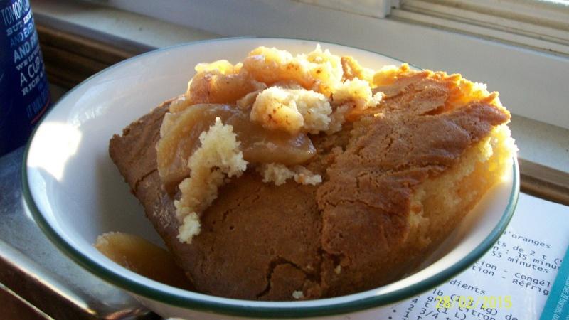 Gâteau pouding aux pommes à l'érable de Best 100_6821