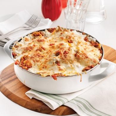 Lasagne dans le poêlon Lasagn10
