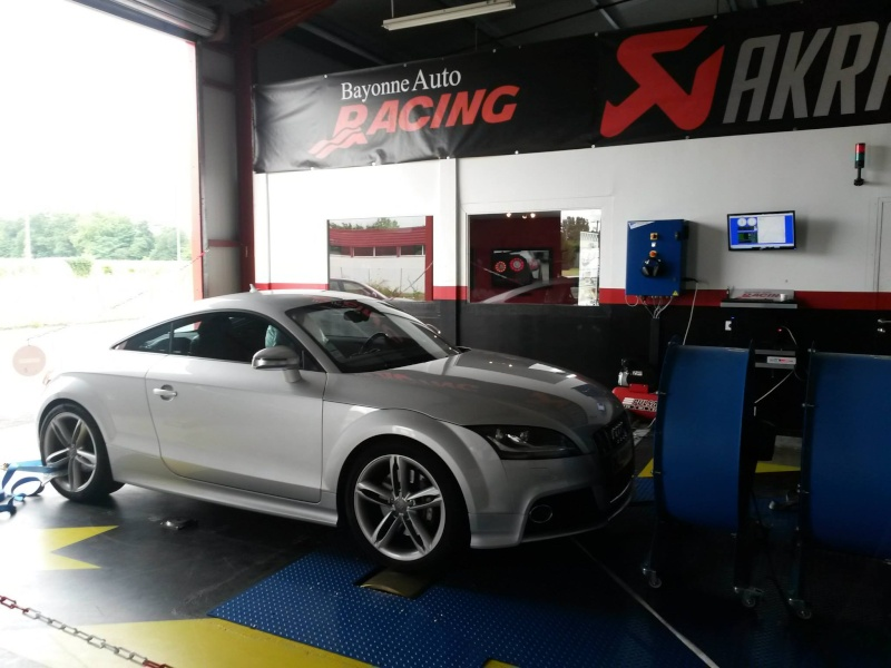 Présentation de reprogrammation d'une Audi TT-S 272 cv 10557110
