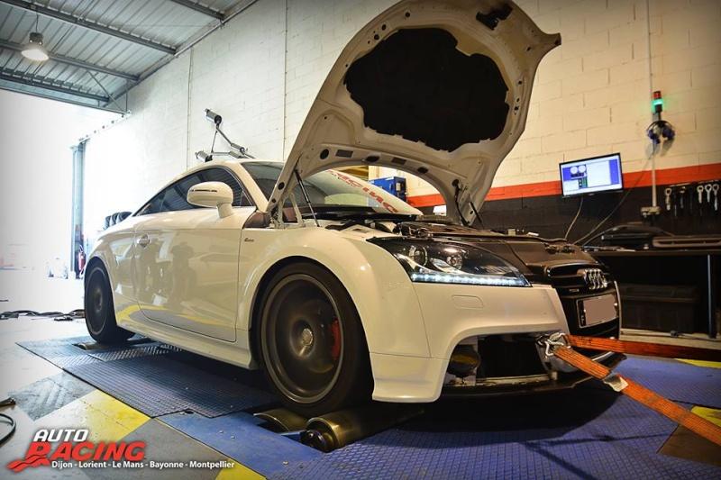 Présentation de reprogrammation d'une Audi TT TDI 170 cv  10632711