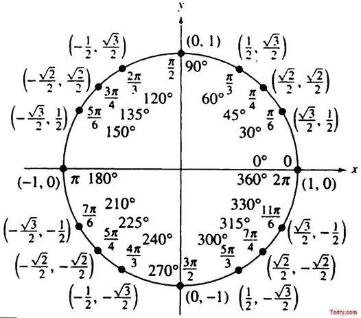 الدائرة المثلثية 14265110