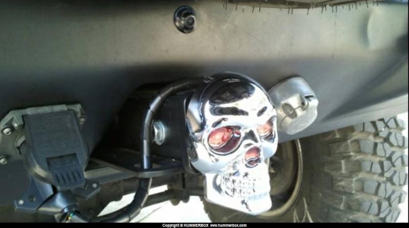 Arrivage de têtes de mort pour votre Hummer 10433710