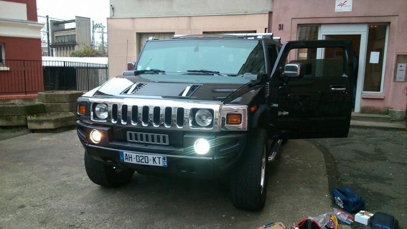 Paire de feux de jour LED Hummer H2 disponible 10929110