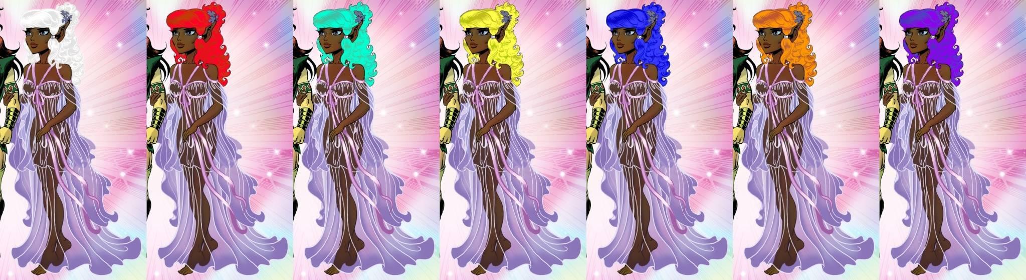 Vaeri's Colorings and Art Moonsh11