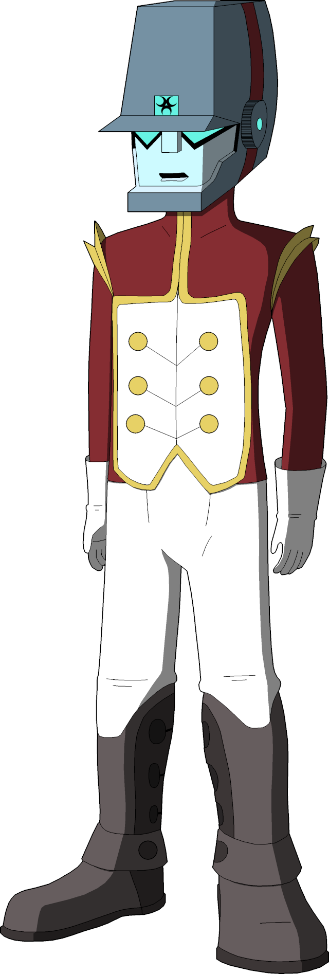 Costume Idea - Lance's Military Armour Lance_10
