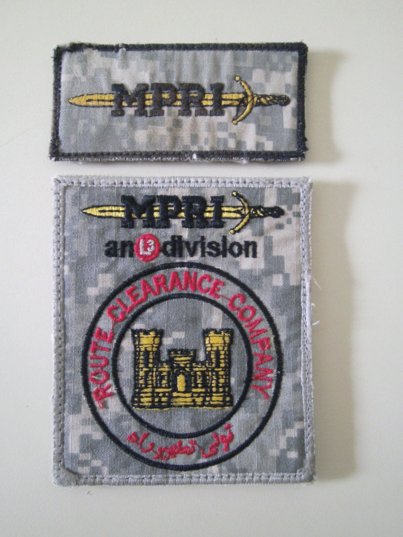 Route Clearance Company patches Sany0011