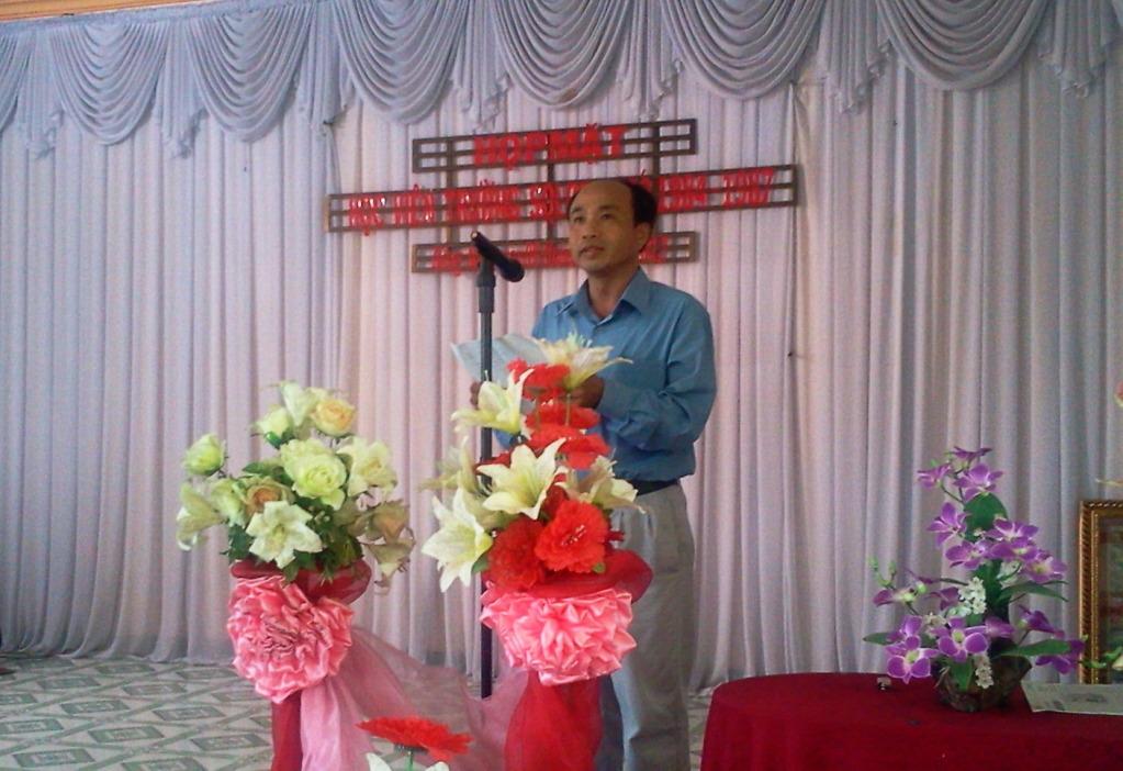 Diễn văn khai mạc buổi họp mặt lần thứ 12 2012-022