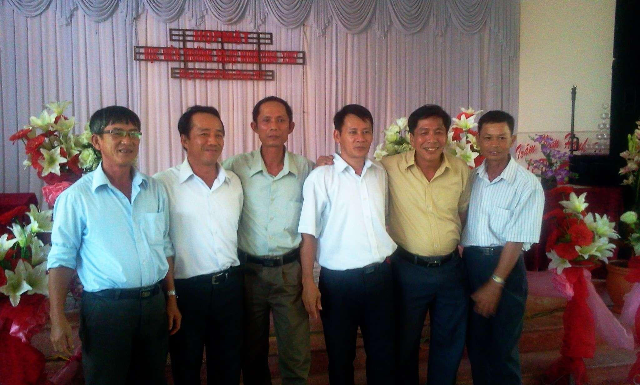 Hình ảnh cựu HV khóa 7 họp mặt kỷ niệm 25 năm tốt nghiệp SQLQ2 2012-031