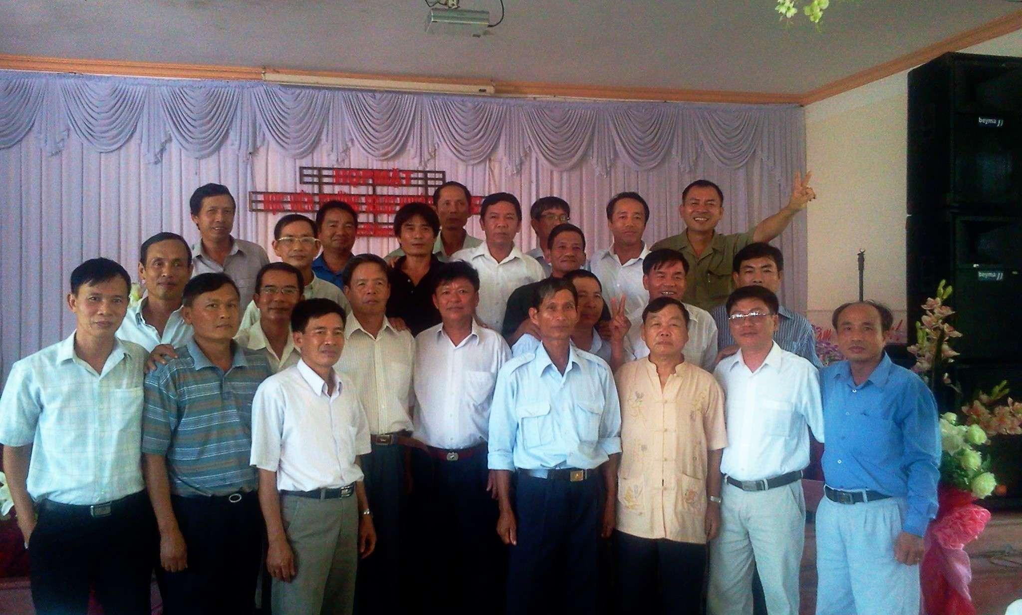Hình ảnh cựu HV khóa 7 họp mặt kỷ niệm 25 năm tốt nghiệp SQLQ2 2012-035
