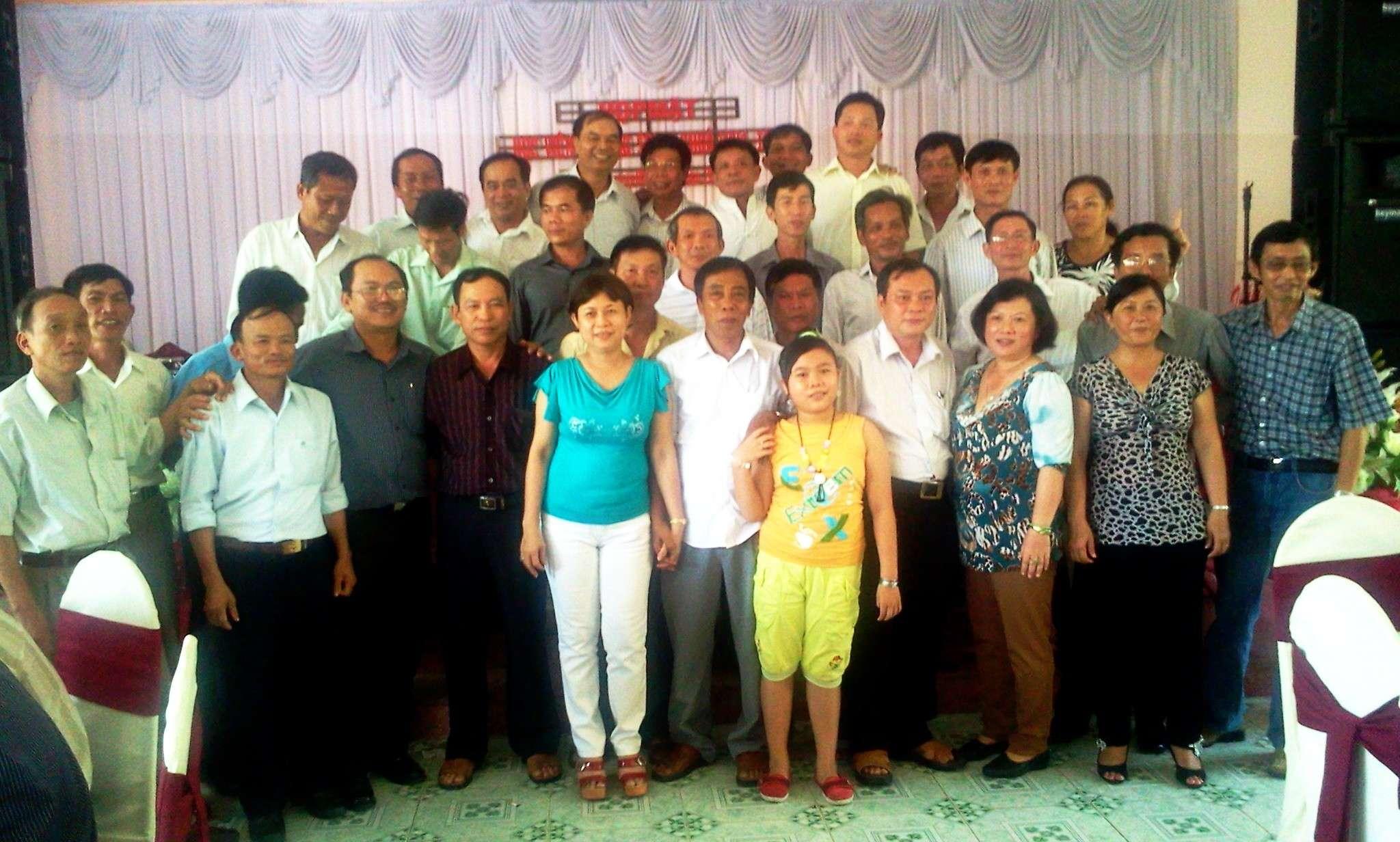 Hình ảnh cựu HV khóa 7 họp mặt kỷ niệm 25 năm tốt nghiệp SQLQ2 2012-038