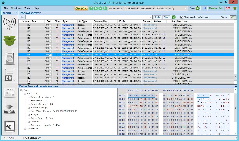 Giao thức SNMP trong việc giám sát hệ thống mạng & phân tích wifi Acryli10