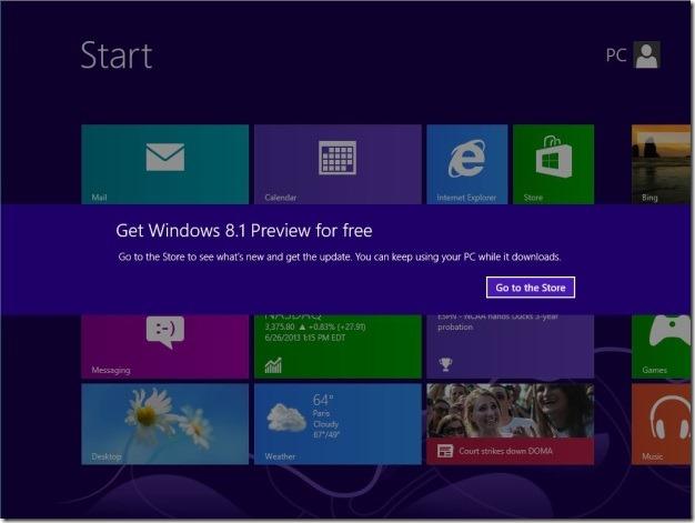 Nâng cấp Windows 8 lên Windows 8.1 Preview Image020
