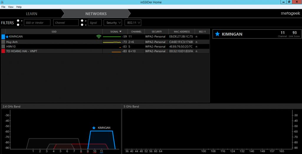 Giao thức SNMP trong việc giám sát hệ thống mạng & phân tích wifi Inssid10