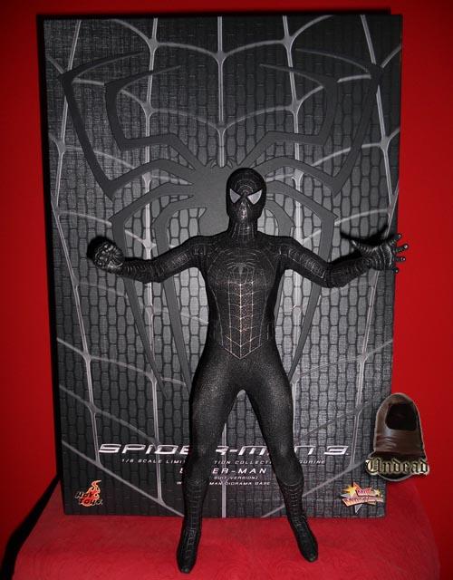 HOT TOYS Spider-Man (black suit+sandman diorama ) Sp210