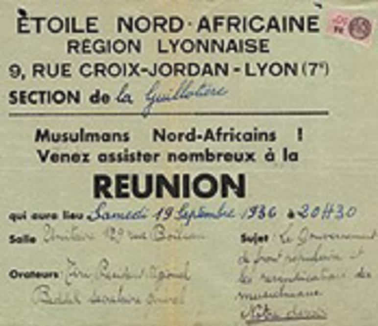 L'Etoile Nord-Africaine (E.N.A) Etoile10