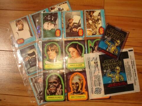 1977 1980 PEE CHEE Star Wars O Empire contraataca Tarjeta de 78 a 281 ver lista