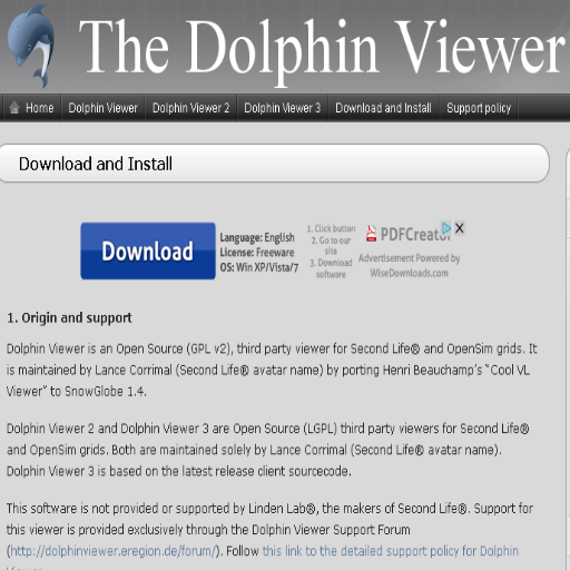 Second Life Viewers ➩ The Dolphin Viewer  710