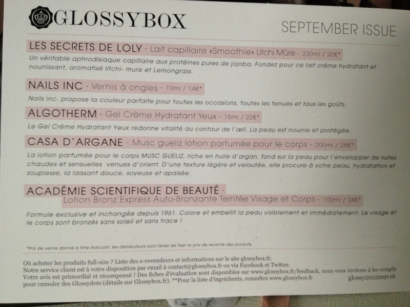 "[Septembre 2012] Glossybox ""September Issue"" - Page 32 Img_6412"