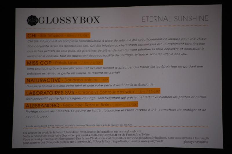 "[Août 2012] Glossybox ""Eternal Sunshine"" Dsc_0311"