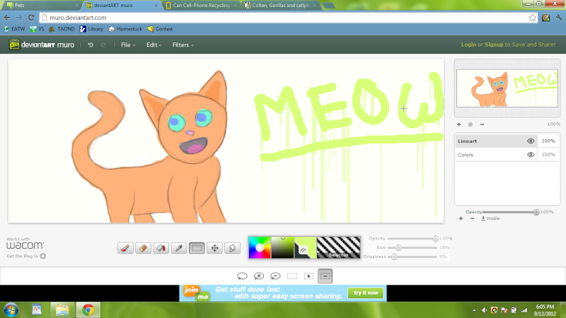 Digital Art makes everything looks awesome these days. Meow10