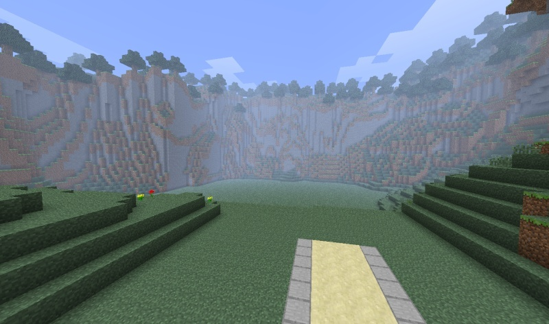 Le projet de la map Donjons avance 2012-017