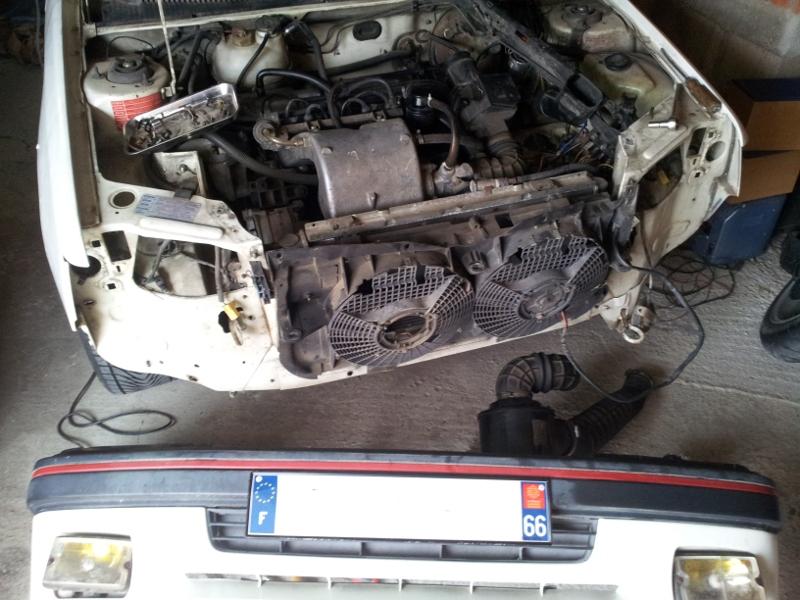 [Alain 13]  205 GTI 1L9 - 1900 - Blanc Meije - 1988 205110