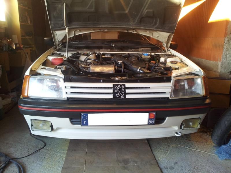 [Alain 13]  205 GTI 1L9 - 1900 - Blanc Meije - 1988 - Page 3 Facade10