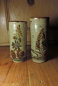 X2 Glazed Vases with Animals Dscn4121