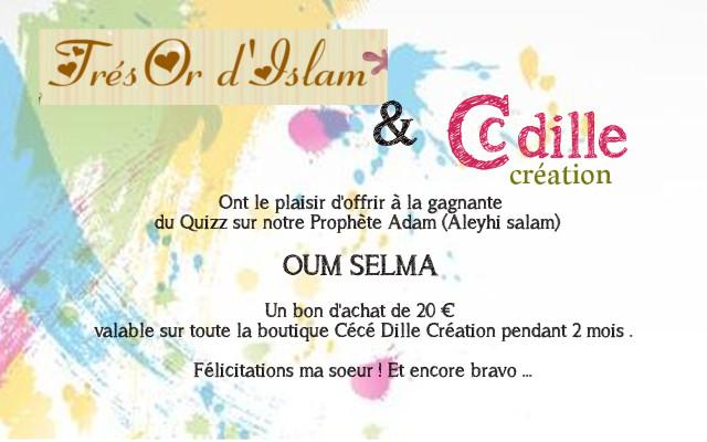 POUR LES OUMM: Quiz Prophète ADAM 'alayhi as salam - Page 2 Tresor10