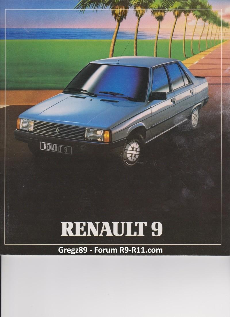 Catalogue gamme R9 - 1982 00110