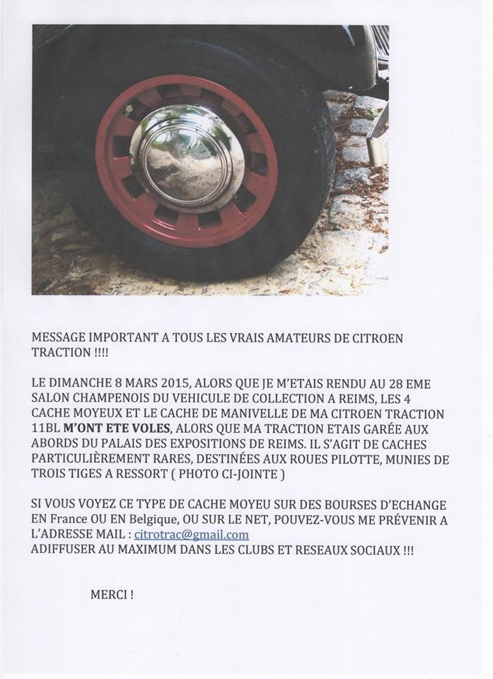 /!\ Vol au salon Champenois du véhicule de collection à Reims 11061210