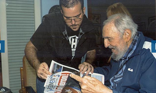 Fidel è vivo (prime foto pubblicate da agosto scorso).... Fidel10