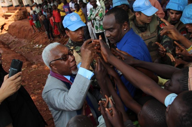 Maintien de la paix dans le monde - Les FAR en République Centrafricaine - RCA (MINUSCA) 16607710