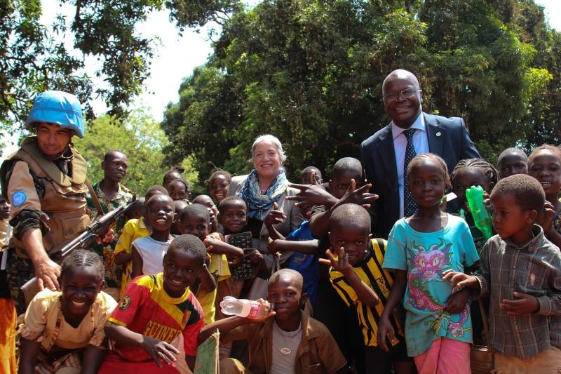 Maintien de la paix dans le monde - Les FAR en République Centrafricaine - RCA (MINUSCA) 16794210