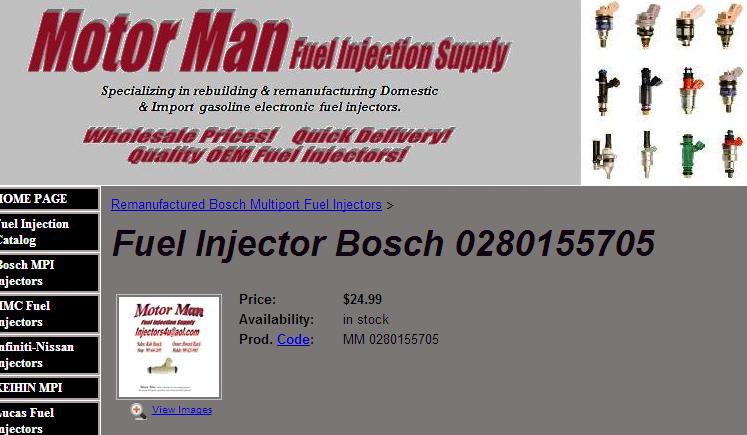 Décrassage ou changement des injecteurs du V8 Inject10