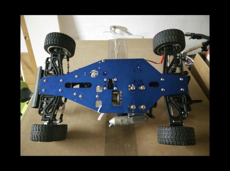 Shaft mfi 1/10. 2 roue motrices thermique Image16