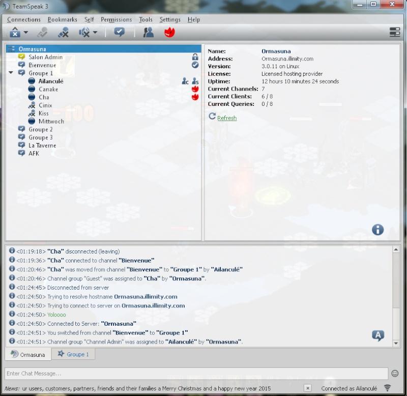 Comment se connecter au TeamSpeak de notre guilde ? (+ Réglage Micro) Screen12