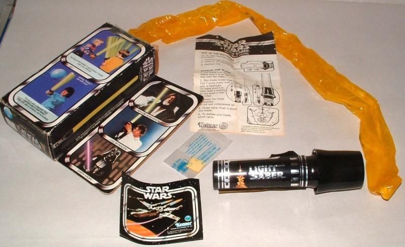Newbie..1977 Christmas memory - Light Saber toy Sw-lig10
