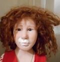 vieille poupée en fimo ayant besoin d'une rectif. 00110