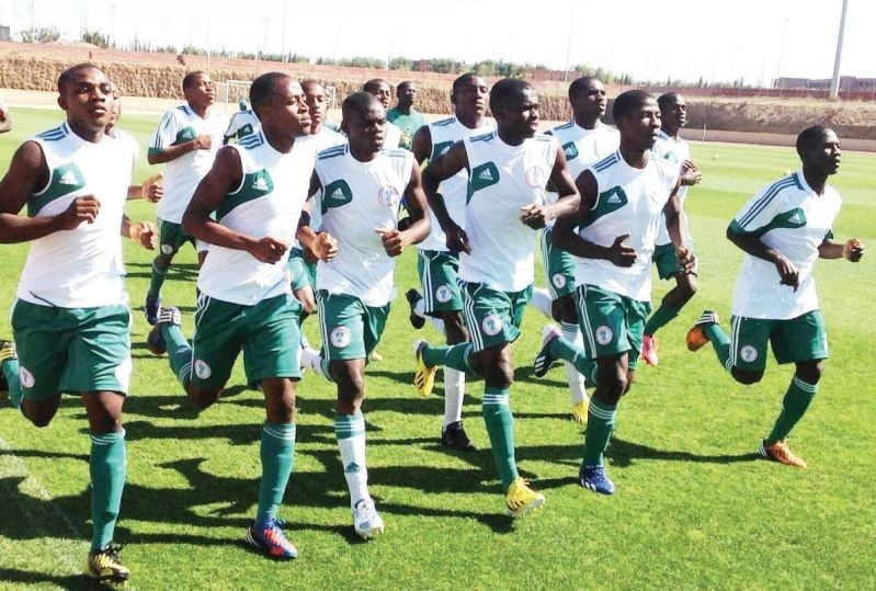 Flying Eagles tackle giant killers Congo Today (Wednesday, 11-3-2015) Flying11