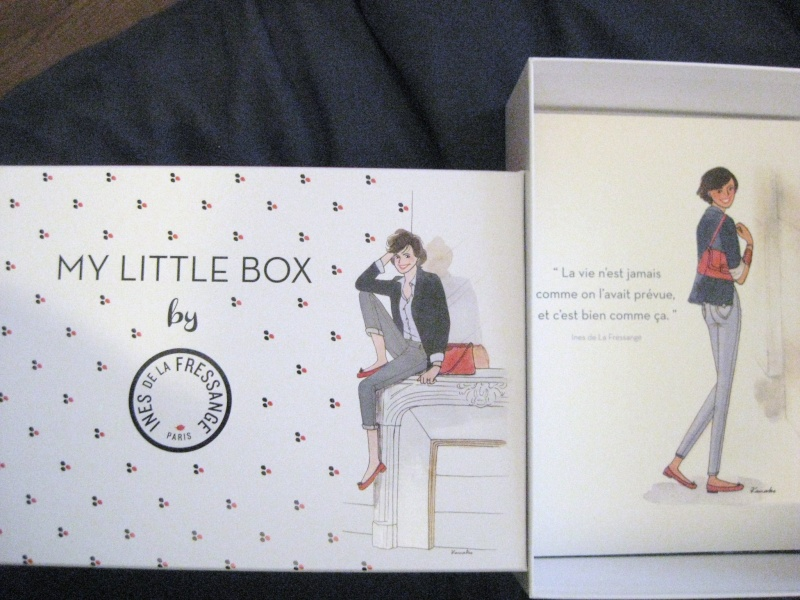 "[Fevrier 2015] My Little Box ""By Ines de la Fressange"" - Page 3 Img_1417"
