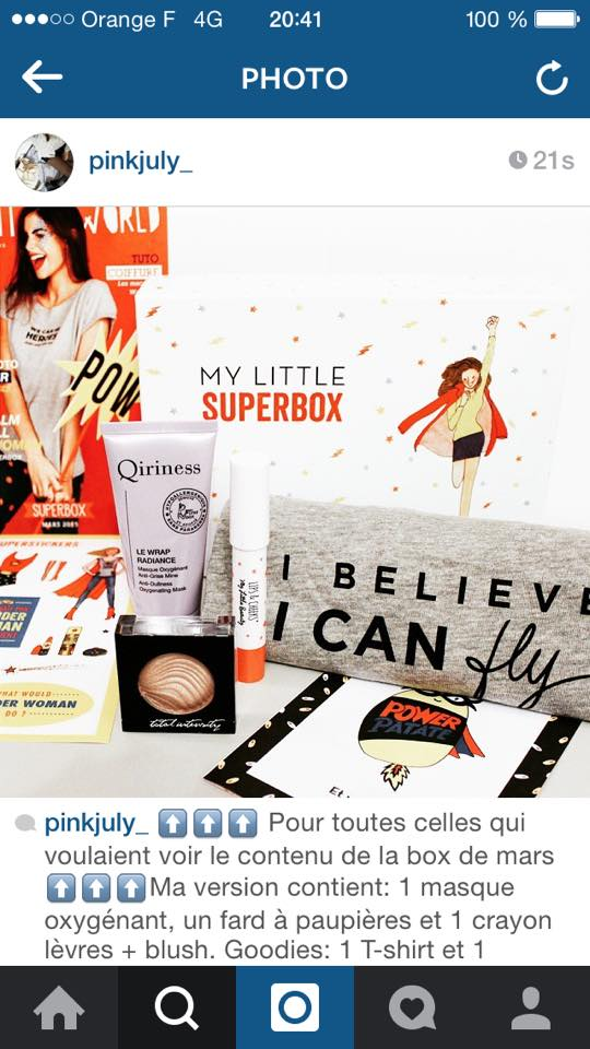 "[Mars 2015] My Little Box ""Super Box"" - Page 4 11041710"