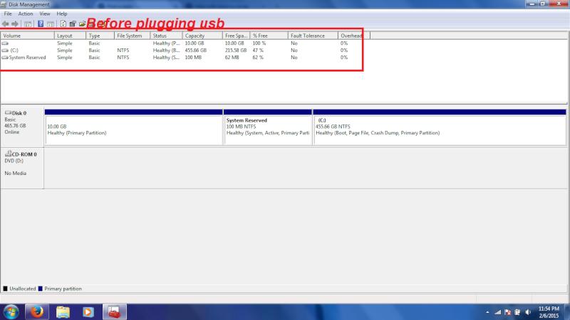 Problem with my usb flash drive. 110