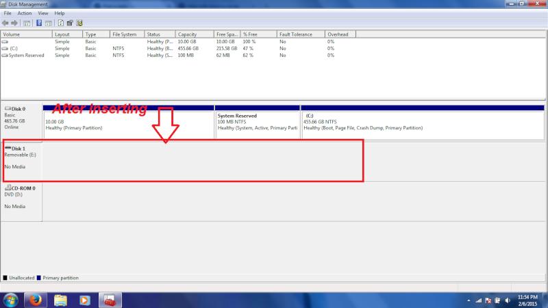 Problem with my usb flash drive. 210