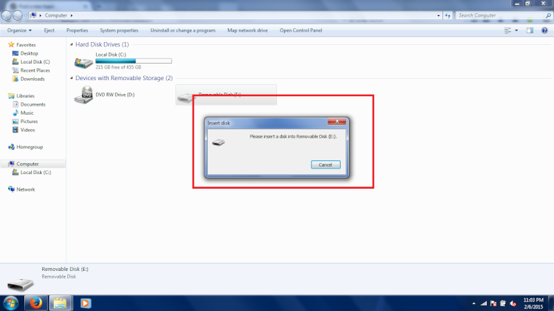 Problem with my usb flash drive. Dsds10