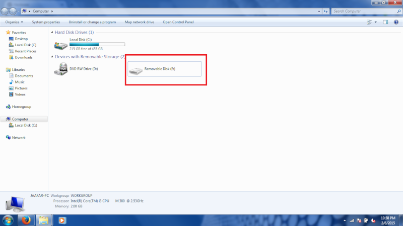 Problem with my usb flash drive. Untitl10