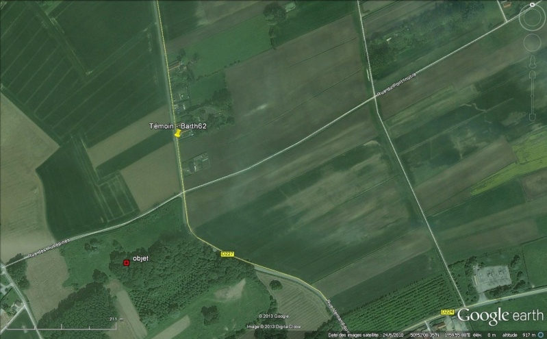2013: le 25/07 à 22h45 - Boules lumineuses - bois en ardres - Pas-de-Calais (dép.62) Barth611