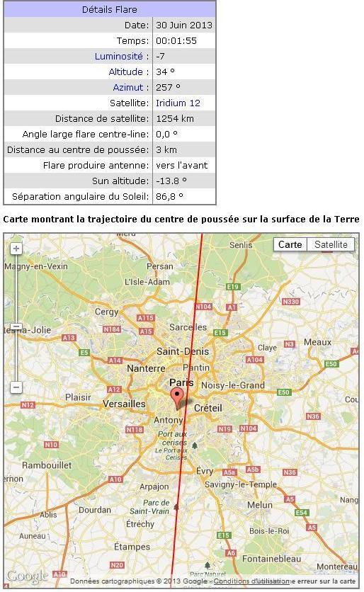 2013: le 30/06 à vers 00h00 - Lumière étrange dans le ciel  - Cachan - Val de Marne (dép.94) Cachan16