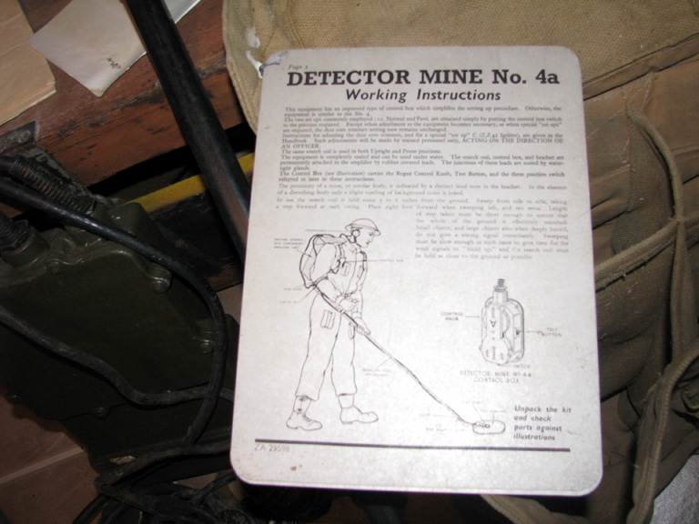 mine detector Mine_d12